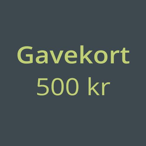 Gavekort-500kr